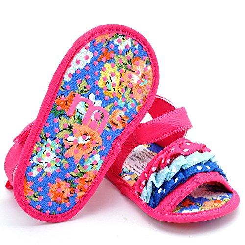 ESTAMICO , {Chaussures premiers pas pour bébé (garçon) Roseo 12-18 mois Roseo