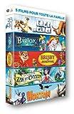 5 films pour toute la famille : L'Age de glace + Bartok le magnifique + Brisby et le secret de NIMH + Les aventures de Zak et Crysta + Horton