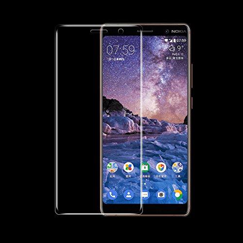ONICO Bildschirmschutzfolie Für Nokia 7 Plus Folie Schutzfolie (Nicht Panzerglas),3D Selbstheilung Kompatibel mit Hülle Vollständige Abdeckung Komplette Bildschirm (Vorne HD)