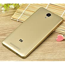 PREVOA ® 丨 Original Batería Funda Reemplazo Cover Case Protictive Carcasa para Xiaomi Redmi NOTE 2 Smartphone 5,5 Pulgadas - (Oro)