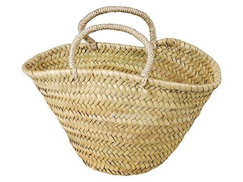 Adam Schmidt Korbtasche für Kinder oder zum Aufbewahren, natur, Palmblatt