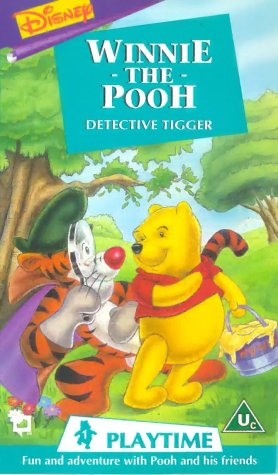 Winnie the Pooh Playtime: Detective Tigger [VHS] [UK Import] -