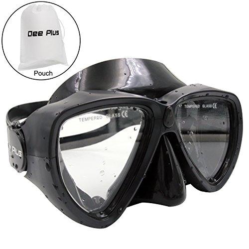 Taucherbrille Dee Plus Profi Schnorchelbrille Anti-Fog Schwimmbrille aus Gehärtetem Glas für...