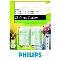 Philips S2 4-22W Lighting starter - Accesorio de iluminación (fabricado en plástico, 4 W, 22 W), blanco