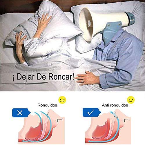 [Versión 2019]Dilatador Nasal Anti Ronquidos DYROE, Nose Clip Silicona con Imán Mejora la Respiración Nariz Clip para Ayudar a Dormir Mejor Antironquidos para el Ejercicio
