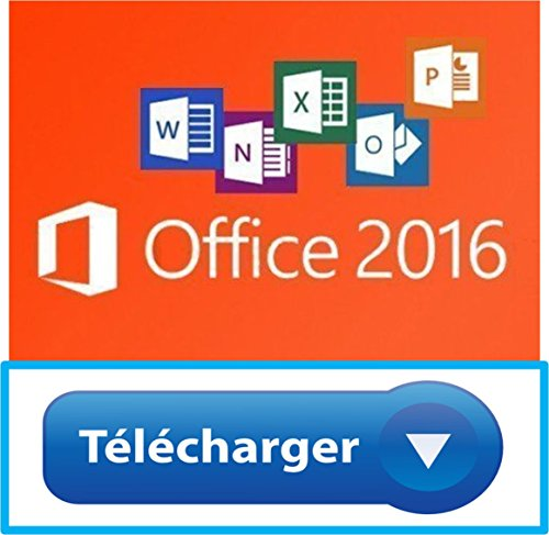 Microsoft office professionnel 2016 plus version complète / 1 pc / 1 clé / livré par e-mail