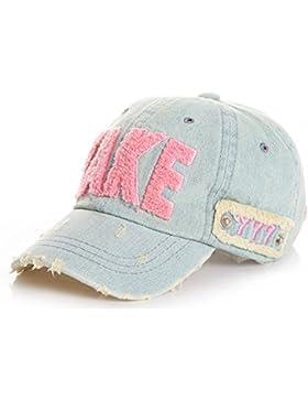 Roffatide Unisex Bambini Estate Lettera Cotone Cappello Da Sole Cappellino Da Baseball Berretto Con Visiera Cappello...