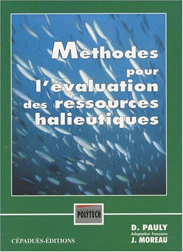 mthodes-pour-l-39-valuation-des-ressources-halieutiques