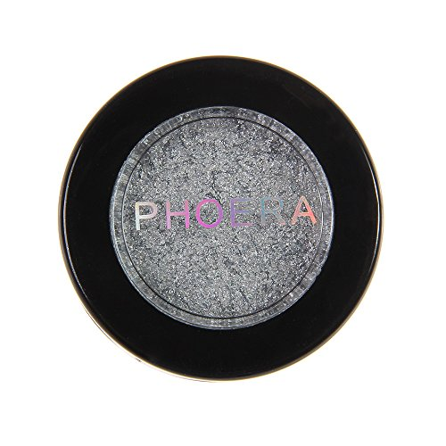 Zilosconcy Frauen PHOERA Glitter Shimmering Colors Lidschatten Metallic Eye Cosmetic Makeup...