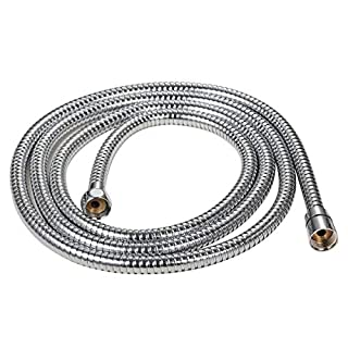 Abbott 197-Inch (Or 5 Meter) Shower Hose Stainless Steel Extra Long Shower Head Hose Bathroom Handheld Showerhead Sprayer Extension Replacement