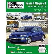 Rta 121.1 Renault Megane 2 Essence et Diesel