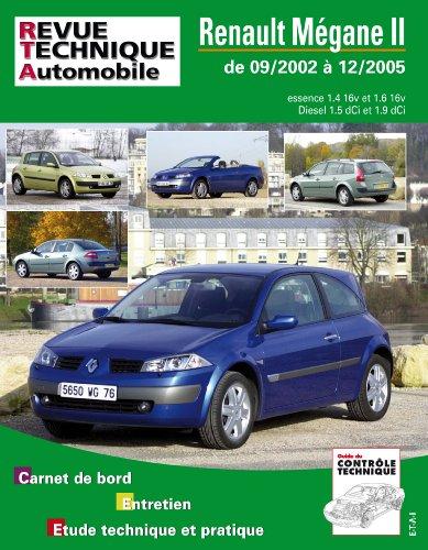 revue technique 127.1 Renault Megane 2 Essence et Diesel