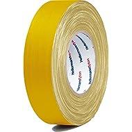 HellermannTyton Gewebeband HTAPE TEX YE 15x50m gelb Klebeband 4031026403816