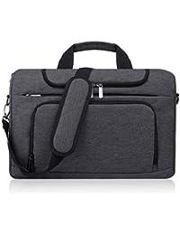 BERTASCHE Laptoptasche 15.6 Zoll Notebooktasche Schulter Tasche für Uni Arbeit Business