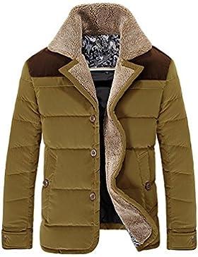 MHGAO Por la chaqueta chaqueta caliente chaquetas de invierno Nueva Ropa de Hombre , khaki , m