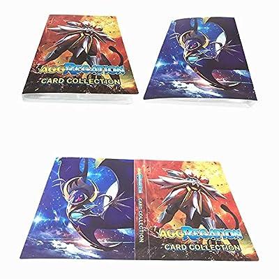 Álbum Titular de Tarjetas Pokémon Carpeta Carpeta Libro 30 páginas 240 Tarjetas Capacidad (Dios del Sol) de Dorara