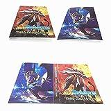 Porte Cartes Pokemon Album Album Classeur Livre 30 Pages Capacité de 240 Cartes (Dieu du Soleil)