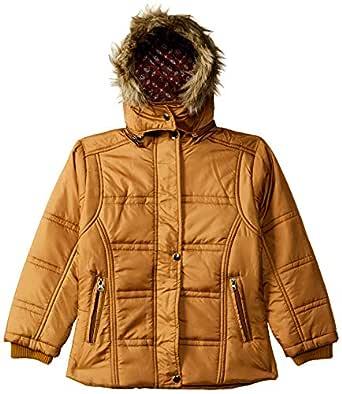 Qube By Fort Collins Girls' Parka Regular Fit Jacket