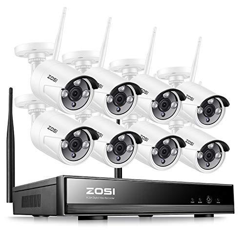 ZOSI Kit Cámaras Seguridad WiFi 960P Sistema Vigilancia