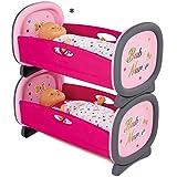Unbekannt Baby Nurse Puppen Etagenbett, ohne Puppen, 52 x 28 cm - Spielzeug Puppenbett Etagen Zwillings Stock Hoch Baby Bett Puppenzubehör