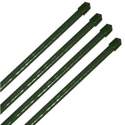 20 Pflanzstäbe grün Ø11mm im Set: 10x 900 mm + 10x 1200 mm von anytools.de - Du und dein Garten