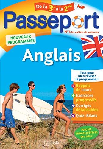 Passeport Anglais de la 3e à la 2de par From Hachette Education