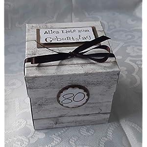 Explosionsbox zum Geburtstag/Geldgeschenk