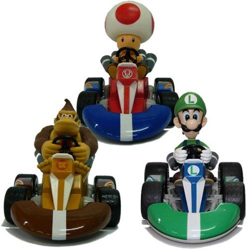 Preisvergleich Produktbild Mario Kart Wii - Pull back racer - Toad