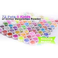 Ardisle–72Loose Glitter Ombretto Viso Body Painting Craft Nail Art polvere