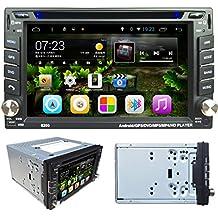 Lacaca 6.2pantalla táctil Android 4.4doble DIN en Dash Soporte de la radio de coche reproductor estéreo reproductor de DVD de navegación GPS Bluetooth WIFI 3G Radio de coche USB, SD, cámara de visión trasera de entrada
