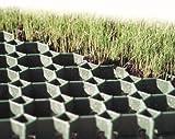 20m² BODPAVE 40 Grass Pavers. Green porous plastic paving grid grass reinforcement 80 grids 500x500