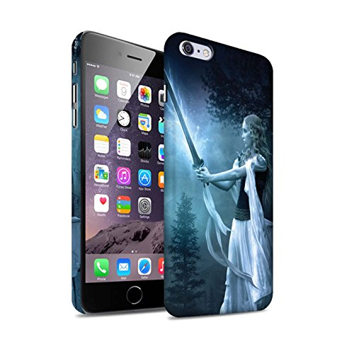 Officiel Elena Dudina Coque / Clipser Matte Etui pour Apple iPhone 6+/Plus 5.5 / Pack 9pcs Design / Super Héroïne Collection Épée Magique