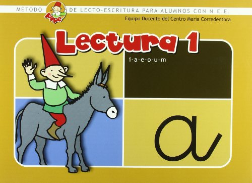 Lectura Pipe 1: Método de lectoescritura para alumnos con N.E.E. (Método PIPE de lectura y escritura del Centro María Corredentora) por Centro María Corredentora
