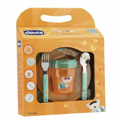 Set Pappa Chicco Easy Meal 18m+