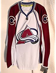 Colorado Avalanche NHL Authentic Ice Hockey Jersey with Fight Strap - Mens Large / 50