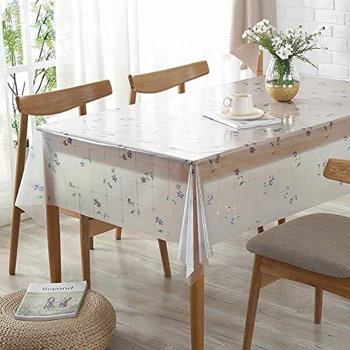 loth Roll, Ultradünne PVC Transparente Tischdeckenschutz Perfekt Schützen-c 120x120cm(47x47inch) ()