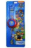 Les enfants s'amuseront pendant des heures avec ces super montres «Projecteur» de la Pat'Patrouille. Il suffit d'appuyer sur le bouton situé sur le côté de la montre pour que votre enfant voie apparaître une image de ses personnages préférés sur le...