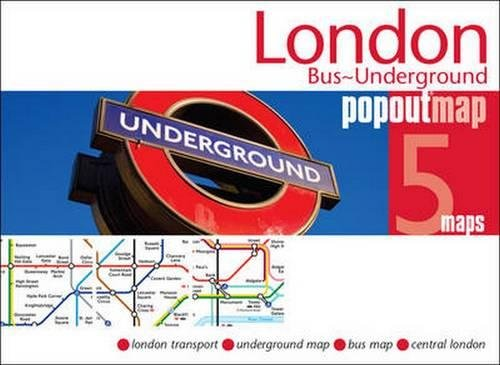 London Bus and Underground PopOut Map (PopOut Maps)