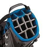 TaylorMade Flextech Crossover Tasche für Golfschläger, Herren Einheitsgröße grau