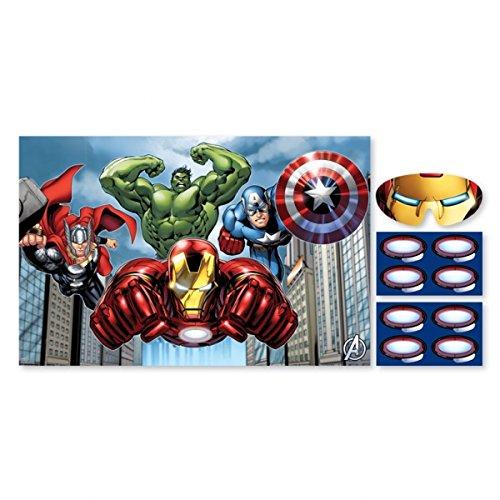 GBP INTERNATIONAL Avengers Geburtstag Party Geschirr 2015Serie Dekoration Produkte Party Game (271354-55)