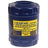MANNOL Legend+Ester 0W-40 API SN/CF Motorenöl, 10 Liter