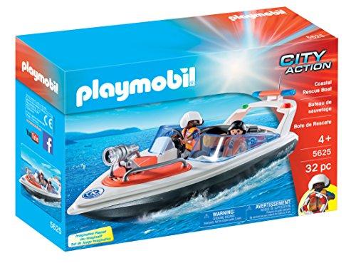 PLAYMOBIL - 5625 - City Action - Küstenrettungsboot