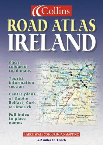 Atlas routiers : Road Atlas - Ireland (en anglais)