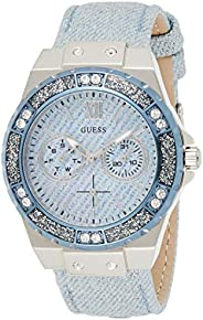 GUESS Women's Analogue Quartz Watch with Stainless Steel Bracelet - W0775L1, Ladies