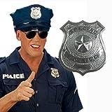 Metall Polizei Abzeichen Polizisten Marke Dienstmarke Polizeimarke Polizeiabzeichen Polizeimarken Dienstmarken als Kostüm Zubehör