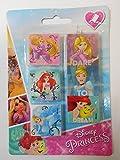 Lot 4 Gommes Princesse Disney Arielle - Rentrée Fourniture Scolaire - 346