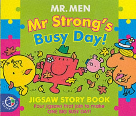 Mr Strong's busy day! : jigsaw story book