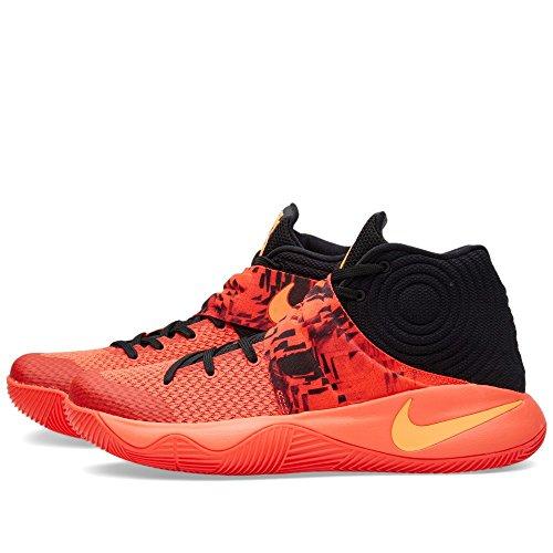 Nike Herren Kyrie 2 Basketballschuhe, 41 EU Orange / Schwarz (Bright purpurnen / ATMC Orng-Blck)