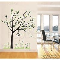 PopDecors albero primaverile Reed 200,66 cm e H (79 Custom-fiori
