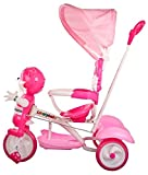 Baybee Bonniecat Trolly Cycle With Canopy (Pink)